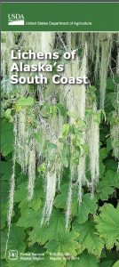 The cover of Lichens of the Alaska South Coast